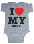 I love my Aunt onesie