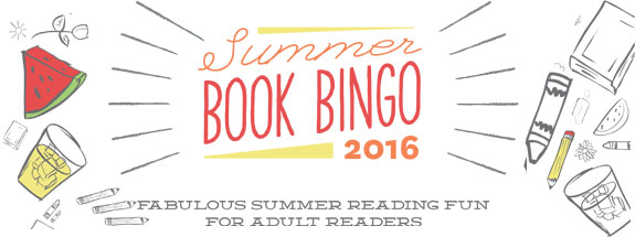 Seattle Public Library Summer Book Bingo